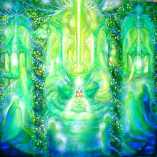 Méditation Temple de la Flamme Verte Télos